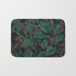 Blackberry Bonanza Bath Mat