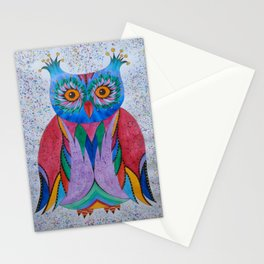 Color Owl Stationery Cards