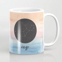 virgo Mugs featuring Virgo by snaticky