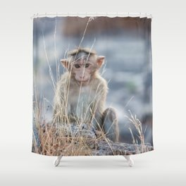 Secret agent Shower Curtain