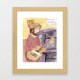Shane Murphy - September 12, 2009 Framed Art Print
