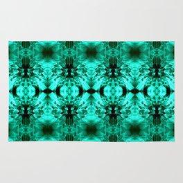 Dandelions Trippinturquoise Rug