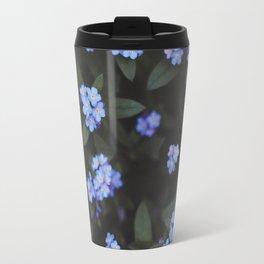 Dark Garden: Forget-me-nots Travel Mug