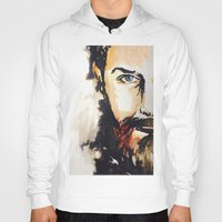neil gaiman Hoodies featuring Simon Neil  by madbiffymorghulis