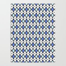 Blue jess Poster