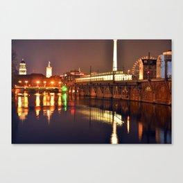 BERLIN NIGHT Canvas Print