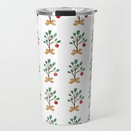 It's (not) such a lonely Christmas CB - Christmas Tree pattern Travel Mug