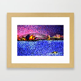 Sydney Harbour Framed Art Print
