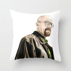 The One Who Knocks Throw Pillow