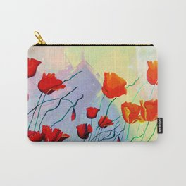 Amapolas Carry-All Pouch