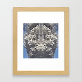 snowy beasty Framed Art Print