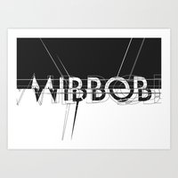 mirror Art Prints featuring Mirror. by Grant Pearce