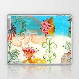 Sea Shell Flowers II Laptop & iPad Skin