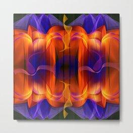 Abstract energy II Metal Print