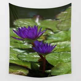 Nymphaea Wall Tapestry