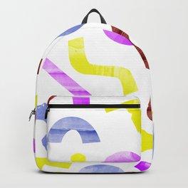 squiggles eighties Backpack