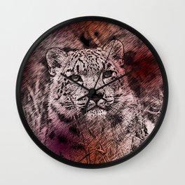Leopard20151203 Wall Clock