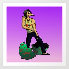 The Num Nums - Randy Just Has To Dance Art Print