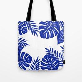Paradise in cobalt Tote Bag