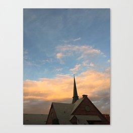 Secular Sky Canvas Print
