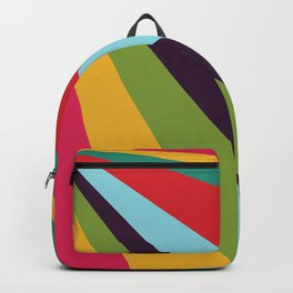 Bright Rays of Light - Circus Tent - Pride Beams - 57 Montgomery Ave Backpack