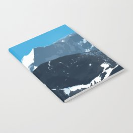 swiss mountains Notebook