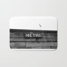 Paris Metro Bath Mat