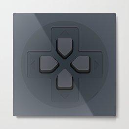 PlayStation - D-Pad Metal Print