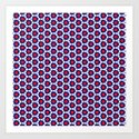 Red & Blue Pattern by applebeat