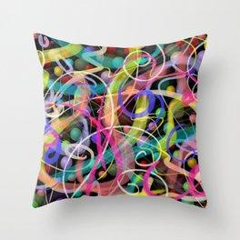 Cosmic Etude Throw Pillow