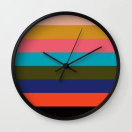 Color Palette III Wall Clock