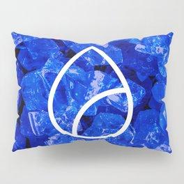 Lapis Lazuli Candy Gem Pillow Sham