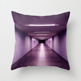 purple light - Veenit Panchal Throw Pillow