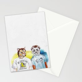 Jules & Vincent (Pulp Fiction) Stationery Cards
