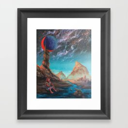 Superlative Mirror Framed Art Print