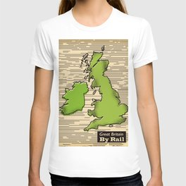 Great Britain By Rail T-shirt