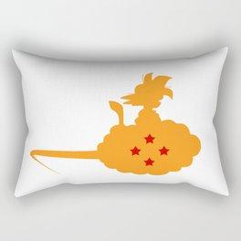 riding a cloud Rectangular Pillow