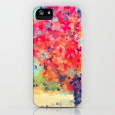 Orange Tree Watercolor  iPhone (5, 5s) Slim Case