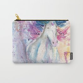 Unicorn Watercolor Art Carry-All Pouch