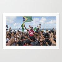 Gabriel Medina wins the ASP World Championship Art Print