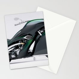 1930 Henderson Streamline Motorcycle Stationery Cards