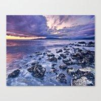 west coast Canvas Prints featuring West Coast by Cyrus McEachern