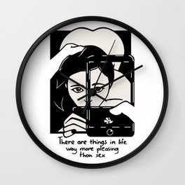 Things in life Wall Clock