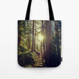 Hidden trail Tote Bag