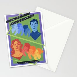 Much Ado About Nothing Stationery Cards