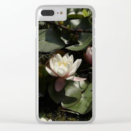 Diamonds and waters Clear iPhone Case