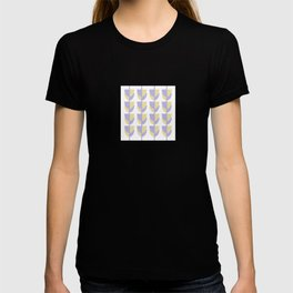 Tulips In Spring Time - Lavender and Lemon T-shirt