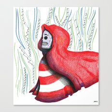 Floating Red Canvas Print
