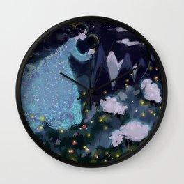 The shepherdess Wall Clock