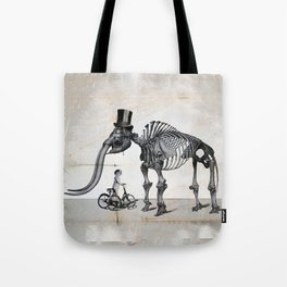 Mister Mastodon And Molly June Tote Bag